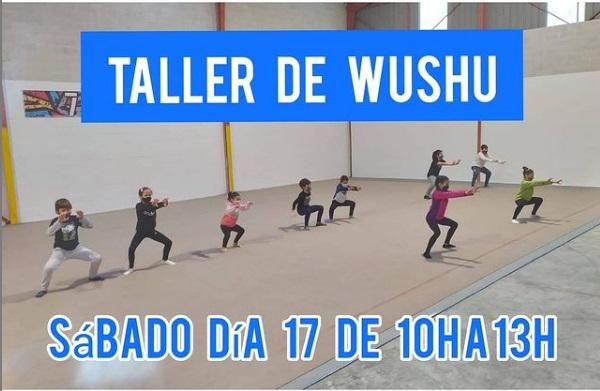 Talleres de Wushu en la Nave Deportiva