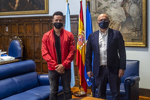 Antonio Luz recibe el respaldo de la Diputación