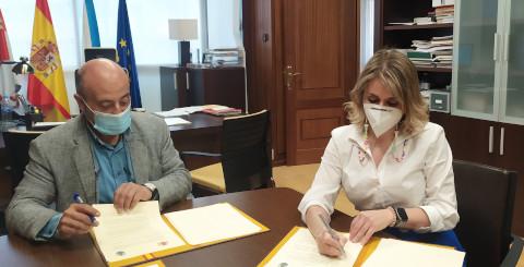 Firmado el convenio para el saneamiento de San Cristobo