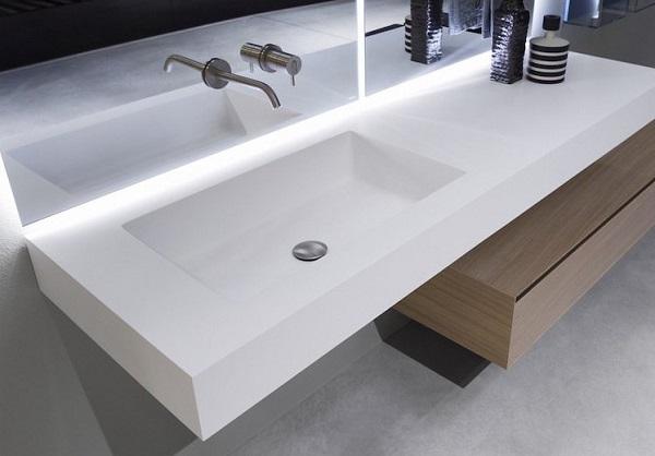 ¿Son las encimeras de baño Corian mejores que las convencionales?