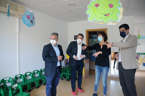 33.000 euros para mejorar la escuela infantil de O Pereiro