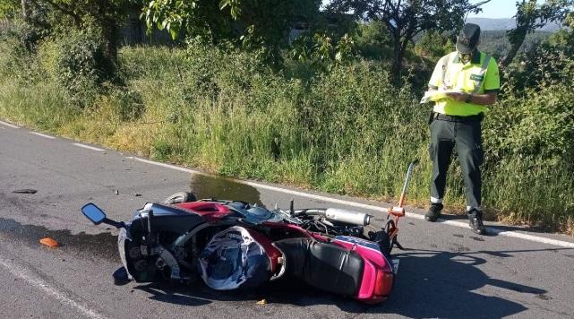 Un vecino de Barbadás fallece en un accidente de moto