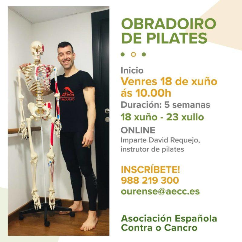 La AECC Ourense te ofrece un taller de Pilates
