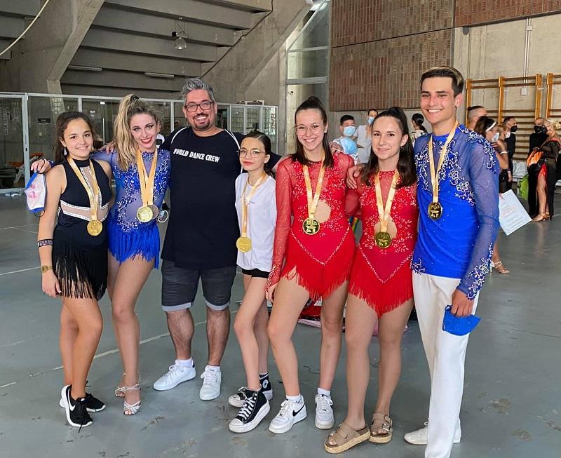 Ourense brilla en el Campeonato de España de Baile