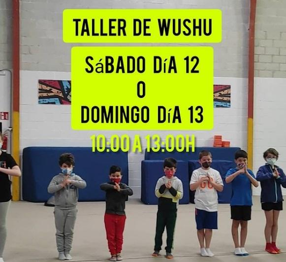 En junio también habrá taller de Wushu