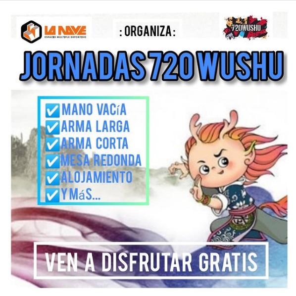 Jornadas 720Wushu en La Nave Deportiva