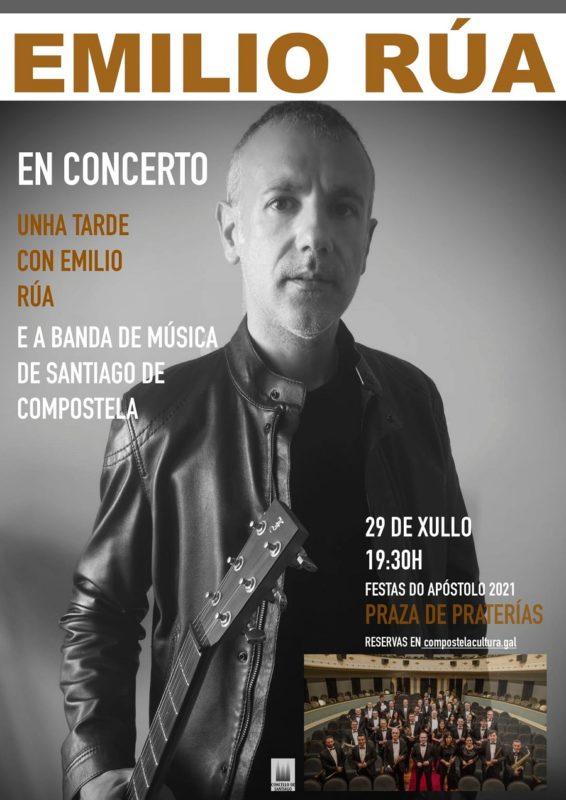 Emilio Rúa actuará para el Apóstol