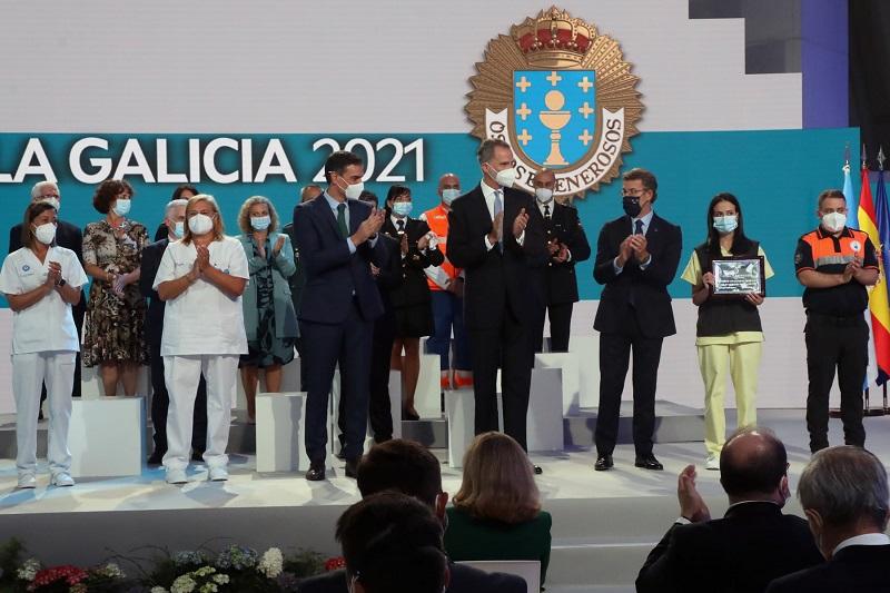 Polémica tras la medalla de Oro de Galicia