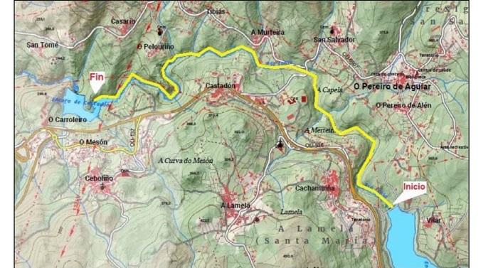 La Ruta dos Muiños do Loña alcanza los 20 Kms