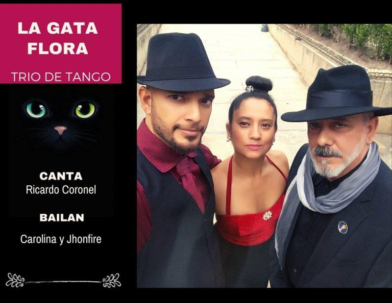 Aroma a tango con la Gata flora