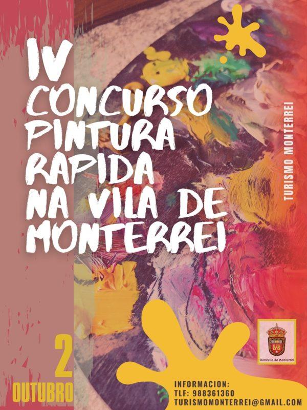 Concurso de pintura rápida en Monterrei