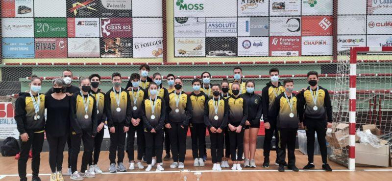 Lluvia de medallas para el Club Burgas