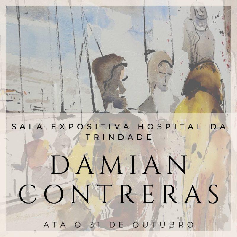 Damián Contreras expone en Monterrei