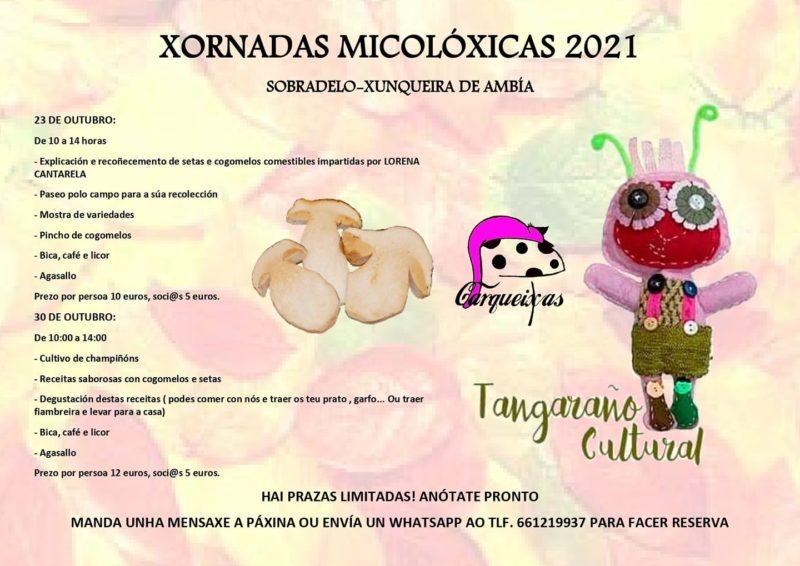 Xornadas Micolóxicas 2021 en Sobradelo